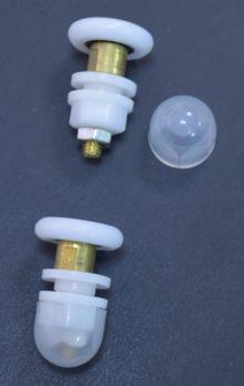 Ролики эксцентриковые дверные пластик-2112201003